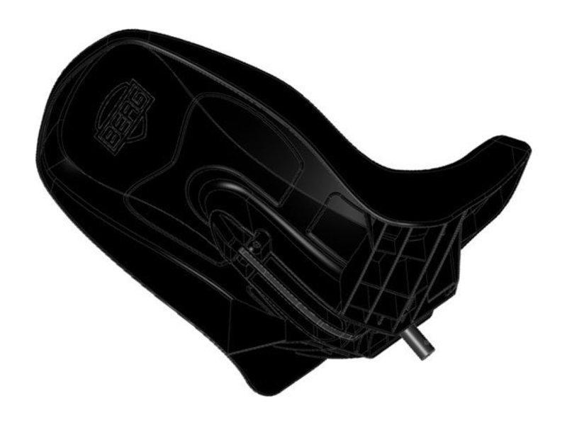 BERG Buddy - Stoel zwart met frame