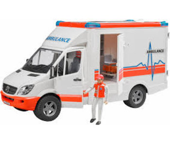 Bruder Mercedes Sprinter ambulance met ambulancebroeder