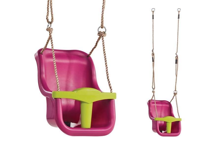 EXIT Aksent Babyschommelzitje (Roze)
