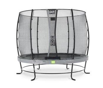 EXIT Elegant trampoline ø253cm with safetynet Economy - grey