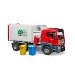 Bruder  MAN TGS vuilniswagen (zijlader)