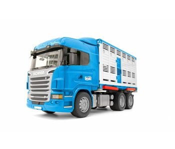 Bruder 3549 - Scania R-serie veetransport + dier