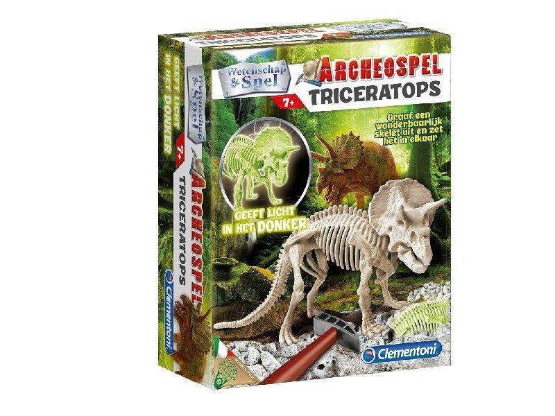 Clementoni Archeospel Triceratops Fluor7+