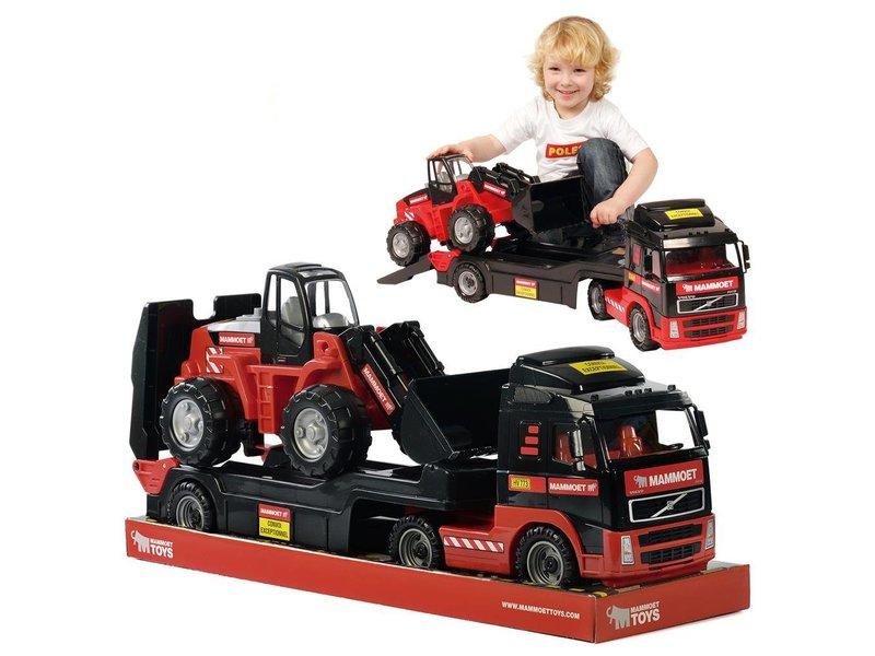 Mammoet volvo truck & shovel