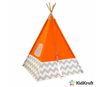 KidKraft Tipi speeltent Deluxe - oranje