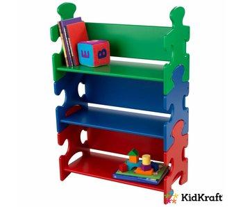 KidKraft Boekenkast puzzel - primaire kleuren