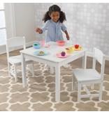 KidKraft Aspen set met tafel en 2 stoelen - wit