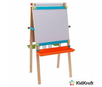 KidKraft Schildersezel met papierrol - felgekleurd