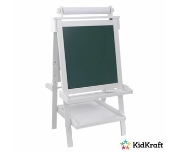 KidKraft Houten schildersezel Deluxe- wit