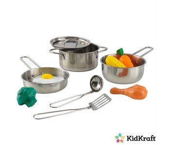 KidKraft Kookgerei set met etenswaren Deluxe