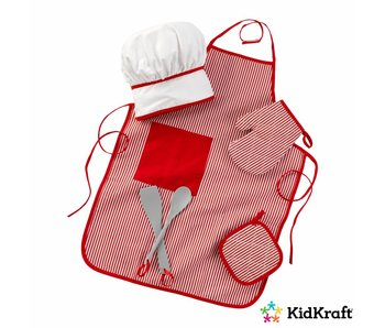 KidKraft Koksset Tasty Treats  - rood