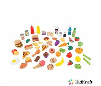 KidKraft Speelgoedeten set van 65
