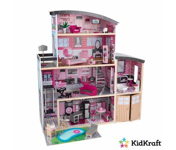 KidKraft Poppenhuis Sparkle Mansion