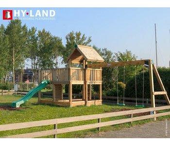 Hy-land Speeltoestel P5-S groene glijbaan