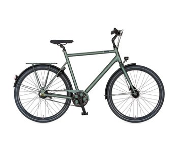 Cortina Speed H61 Titanic Green Matt ND8 Belt Fiets