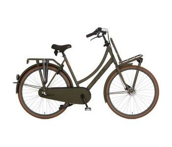 Cortina U4 Transport Denim, Dark Olive Matt N3D Damesfiets
