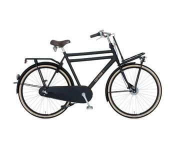 Cortina U4 Transport Jet Black Matt Herenfiets