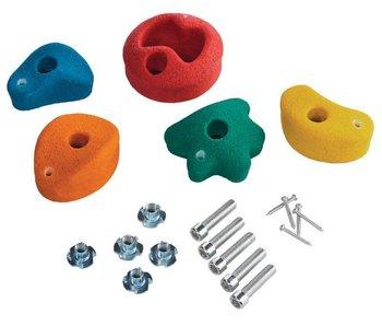 Klimstenen - set van 5 stuks - small - 5 gemengde kleuren