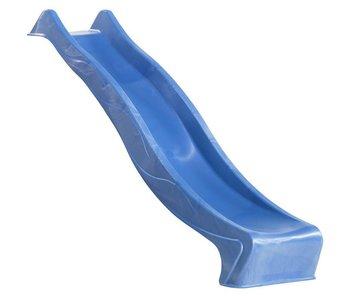 Glijbaan met golf 'REX' - hoogte: 120 cm - Blauw