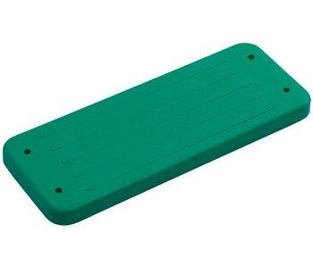 Rubberen schommelzitje - 'traditional' - groen