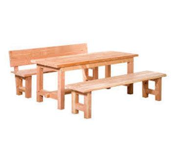 Woodvision Douglas picknickset