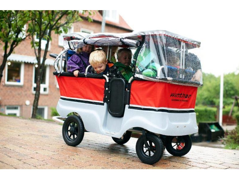 Winther Turtle Kiddy Bus Basic  6-zits