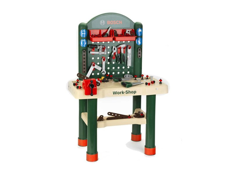 Bosch Werkbank 82 Delig Outdoorspeelgoed Bijna 1000m2 Indoor Speelgoed En Fietsplezier