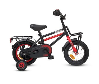 Loekie Pick Up Jongens fiets 12 inch