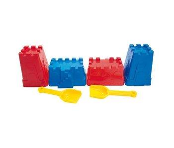 Educo Zandvormen kasteel 6 delig 009101