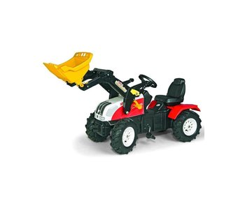Rolly toys STEYR CVT 170  met luchtbanden