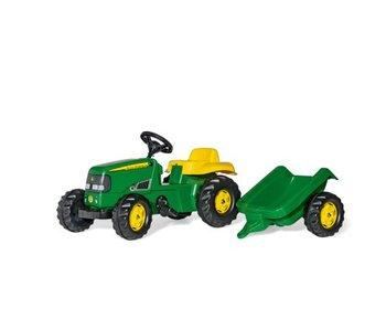 Rolly toys John Deere tractor met aanhanger