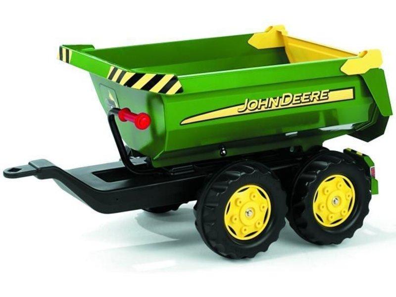 Rolly toys Aanhanger John Deere Halfpipe