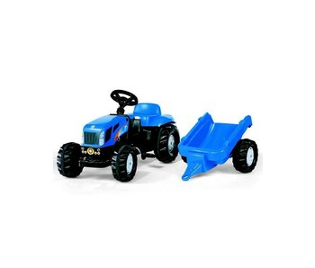 Rolly toys New Holland traptrekker met aanhanger