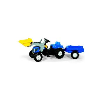 Rolly toys New Holland 7040 met aanhanger