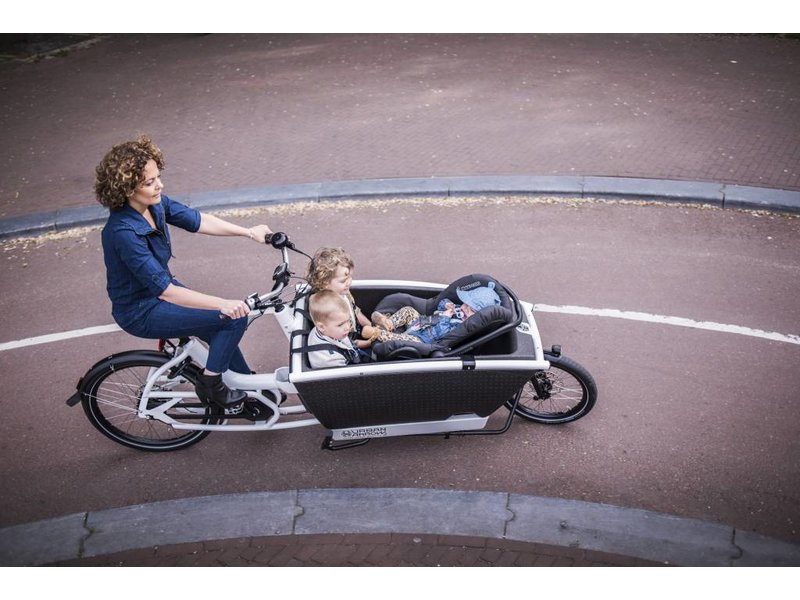 Urban Arrow Family Performance CX Bakfiets Zwart of Wit