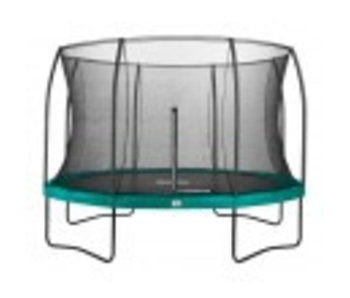 Salta Comfort Edition groen 366cm inclusief gratis trapje