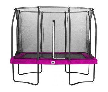 Salta rechthoekige comfort edition roze 214X305 cm met gratis trapje