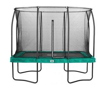 Salta rechthoekige comfort edition groen 214X305 cm met gratis trapje