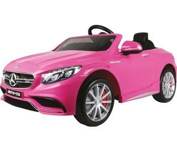 E-Car Mercedes Benz S63 Roze