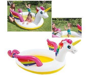 Intex Rainbow Unicorn Pool 272x193x104