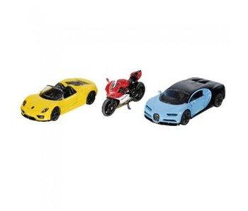 Siku sportwagens en motor 6313