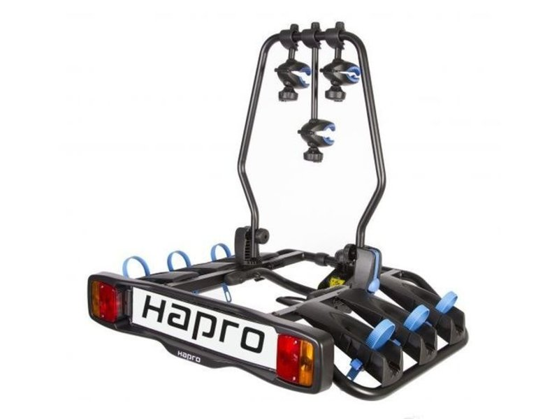 Fietsdrager Hapro Atlas 3F 7-polig Zwart Kantelbaar