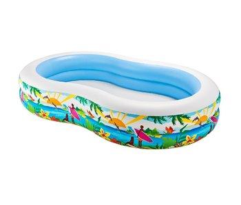 Intex Paradise Pool 262x160x46