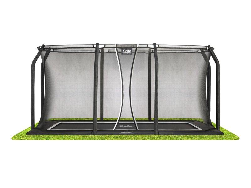 Salta trampoline inground Royal Baseground rechthoekig 214 x 305 cm met Veiligheidsnet