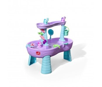 Step2 Step2 Watertafel Rain Showers & Unicorns 99 Cm Paars/blauw