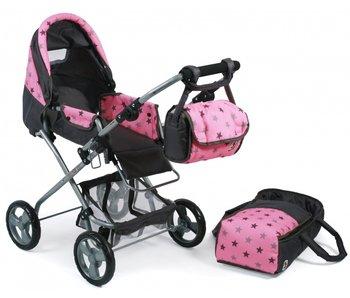 Bambina Poppenwagen Bambina (l.roze/grs/ster)