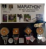 Marathon Schommelhaak Balk 9 x 9 cm