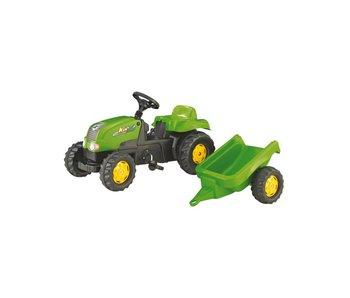 Rolly toys rollyKid-X met aanhanger groen