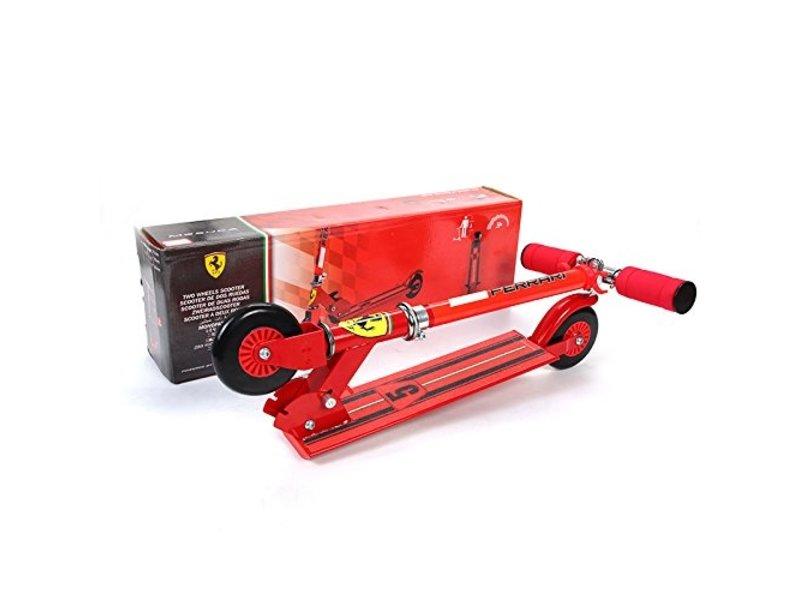 Ferrari Ferrari Kids Twee Wiel Scooter Rood