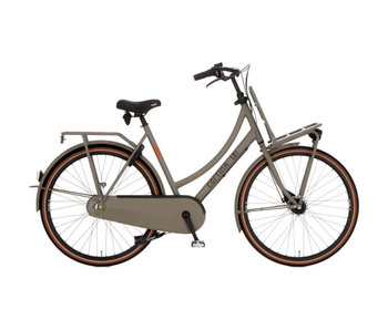 Cortina U4 Solid Quarz Grey Matt RB3 Damesfiets